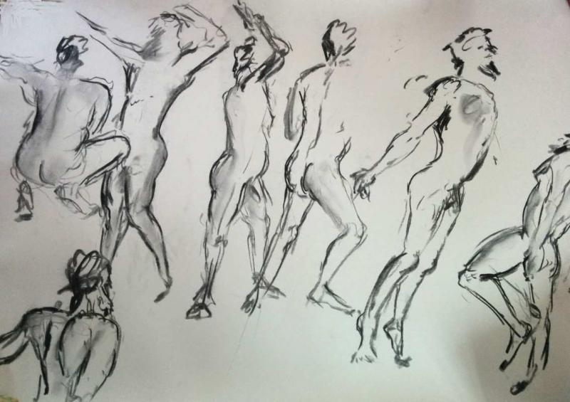 One Minute Sketches | lifedrawing.me