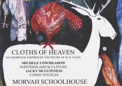 Cloths of Heaven exhibition card