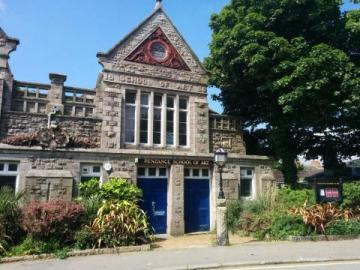 Penzance School of Art in Morrab Road Penzance Cornwall