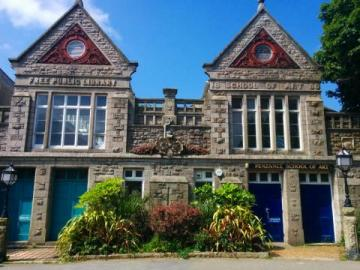 Penzance Public Library Morrab Road Penzance Cornwall