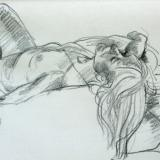 female nude in Cornwall