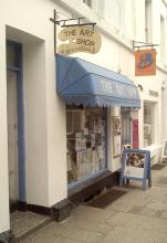 Penzance Art Shop in Chapel Street
