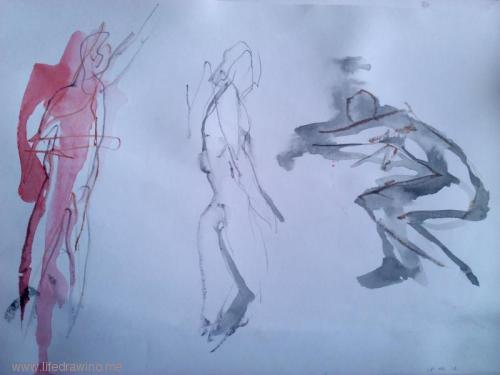 gesture figure drawing practice